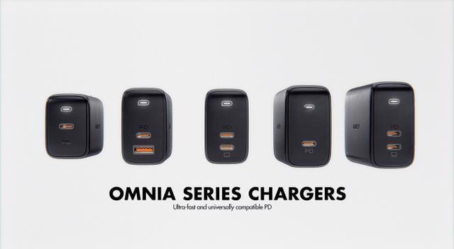 画像1: もうスマホの充電で困らない!AUKEY世界最小*モンスターチャージャー『Omniaシリーズ』