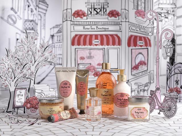 """画像1: """"バラの紅茶""""から立ち上る、心を潤す香り、SABONのローズティーコレクション"""