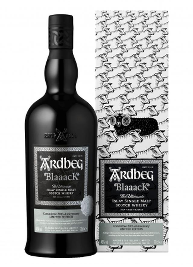 画像2: 【アードベッグ】初のニュージーランド産ピノ ノワールの赤ワイン樽を使用!黒い羊をイメージした真っ黒なボトル『ARDBEG Blaaack(アードベッグ ブラック)』