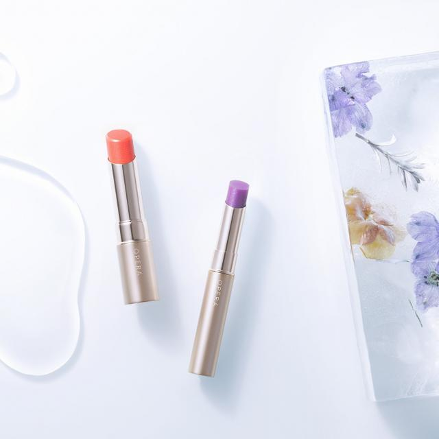 画像1: 「OPERA」から待望の限定色登場!透ける花色の唇、リップティントとシアーリップカラー2色、PLAZA オンラインストアで販売開始!