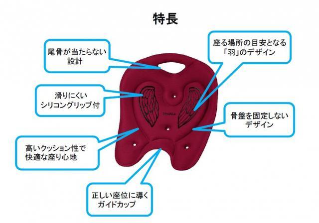 画像4: 在宅デスクワークの腰痛軽減!人気のメディコア リリーフに「ミニ」が新登場!