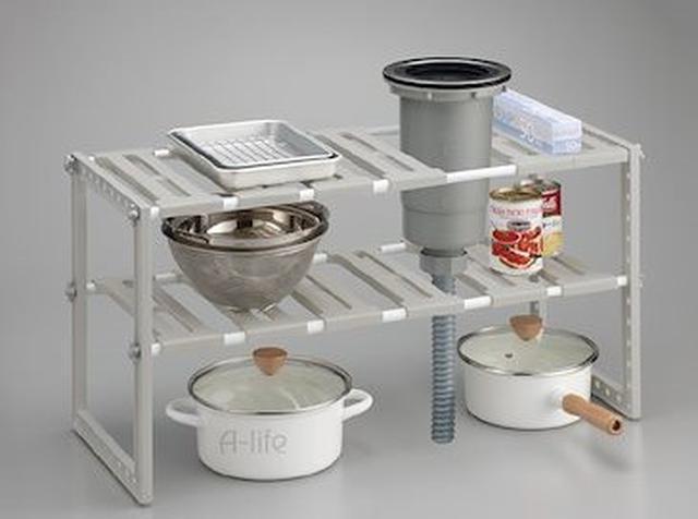 画像2: キッチン周辺をすっきりさせる収納アイテム