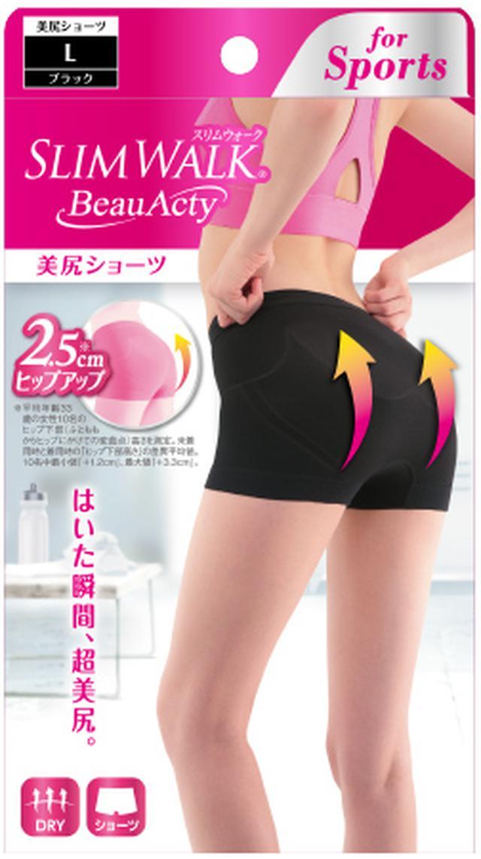 画像: 美尻ショーツ ショーツの代わりに1枚はくだけ! +2.5cm ※7「 3Dヒップアップ設計」に よりはいた瞬間、超美尻!
