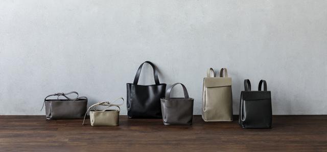 画像1: 【土屋鞄】革が自然に生み出す造形が美しい、鞄の新シリーズ「Nami」登場