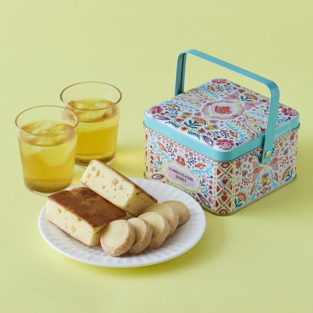 画像1: 夏のティータイムが楽しくなる紅茶と焼き菓子のセット