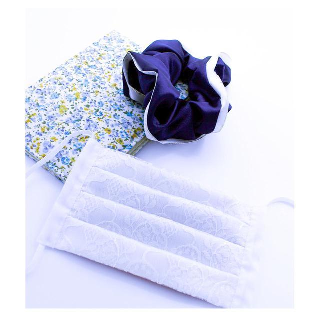 画像1: まるで花嫁!?大人気ランジェリーブランドが贈る新発想の「レースマスク」が販売開始!