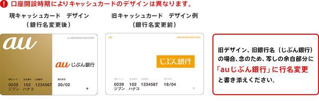 画像: 【重要】特別定額給付金の受給について | auじぶん銀行