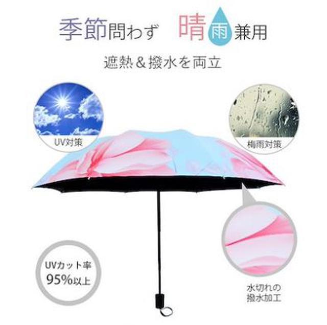 画像2: 梅雨シーズン到来!おすすめ晴雨兼用傘