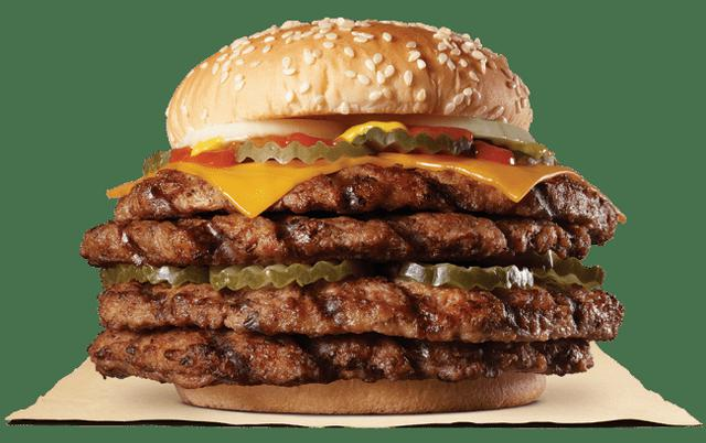 画像3: バーガーキング® のあの『超ワンパウンドビーフバーガー』に「ストロング」が登場!