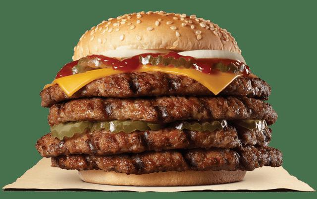 画像2: バーガーキング® のあの『超ワンパウンドビーフバーガー』に「ストロング」が登場!