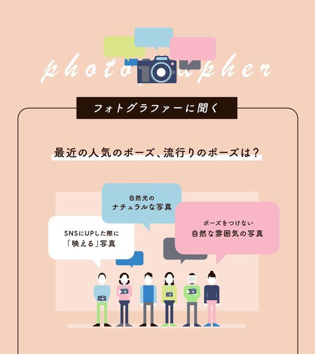 画像: 最近の人気ポーズ・流行りのポーズは? 令和のトレンドは「自然な雰囲気」