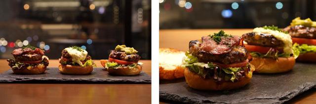 画像: 【「& Kitchen」限定メニュー】 スライダー3 種類食べ比べセット Delivery 1,528円/Takeout 1,450円