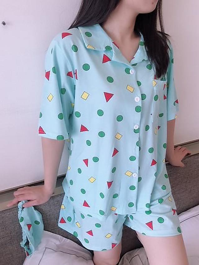 画像2: クレヨンしんちゃんカップルパジャマ