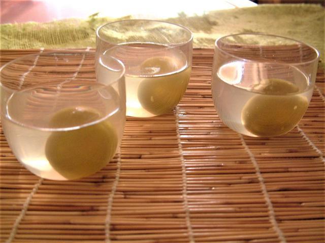 画像: 梅酒ぜりぃ ~梅の甘露煮とシロップを使った簡単大人スイーツ!~