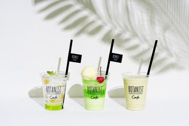画像1: 【持ち帰りOK】初夏の緑のように爽やかなボタニカルドリンク3種が発売中
