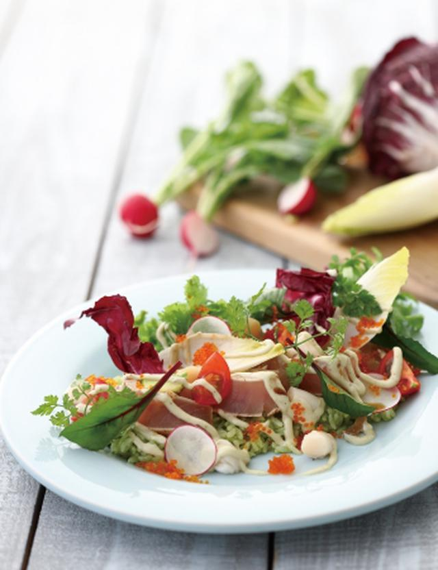 画像2: できるだけ野菜をたっぷり!キハチ流のごはん料理も登場