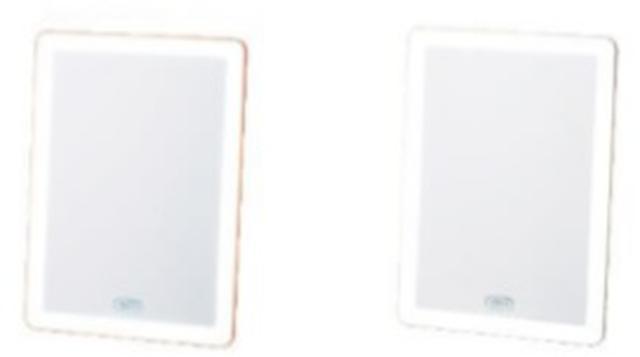 画像2: LEDライトで明るくお顔を映し、いつものメイクもワンランクアップ「Toffy Beauty LEDブライトミラー」