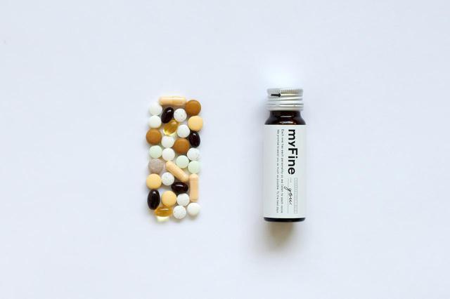 画像: 必要な栄養をオーダーメイドで。パーソナライズリキッド「myFine」が新発売!