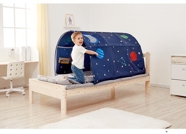 画像1: 子供用ベッドテント