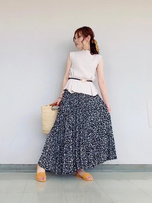 画像: MIKO(ROPE' PICNIC 宇都宮福田屋)|ROPE' PICNICのスカートを使ったコーディネート - WEAR