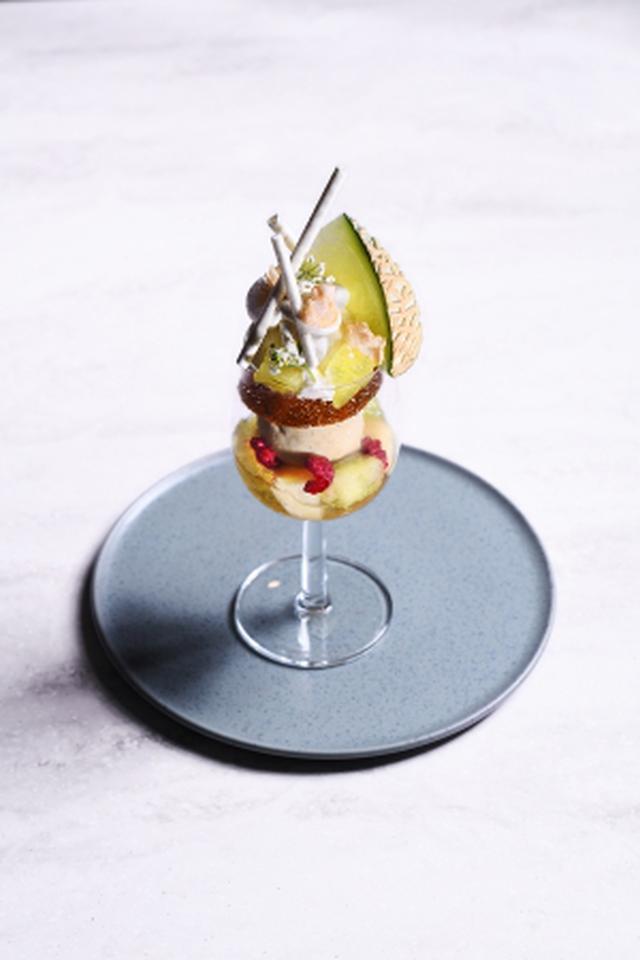 画像6: 完全予約制フルーツのフルコース専門店「フルーツサロン」メロンづくしの贅沢フルコースが登場