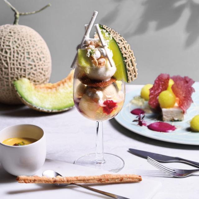 画像2: 完全予約制フルーツのフルコース専門店「フルーツサロン」メロンづくしの贅沢フルコースが登場