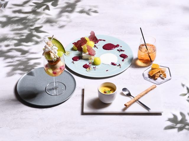 画像1: 完全予約制フルーツのフルコース専門店「フルーツサロン」メロンづくしの贅沢フルコースが登場