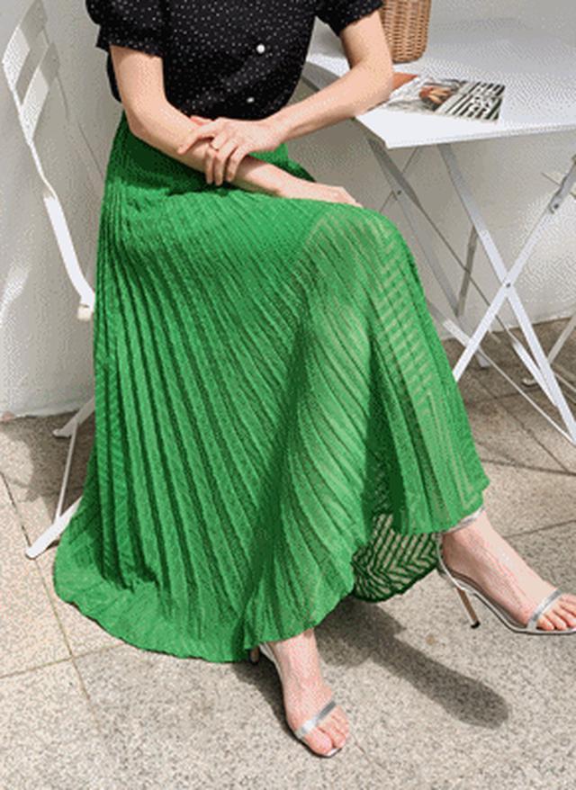 画像: [DHOLIC] テクスチャーフレアスカート・全4色スカートスカート|レディースファッション通販 DHOLICディーホリック [ファストファッション 水着 ワンピース]