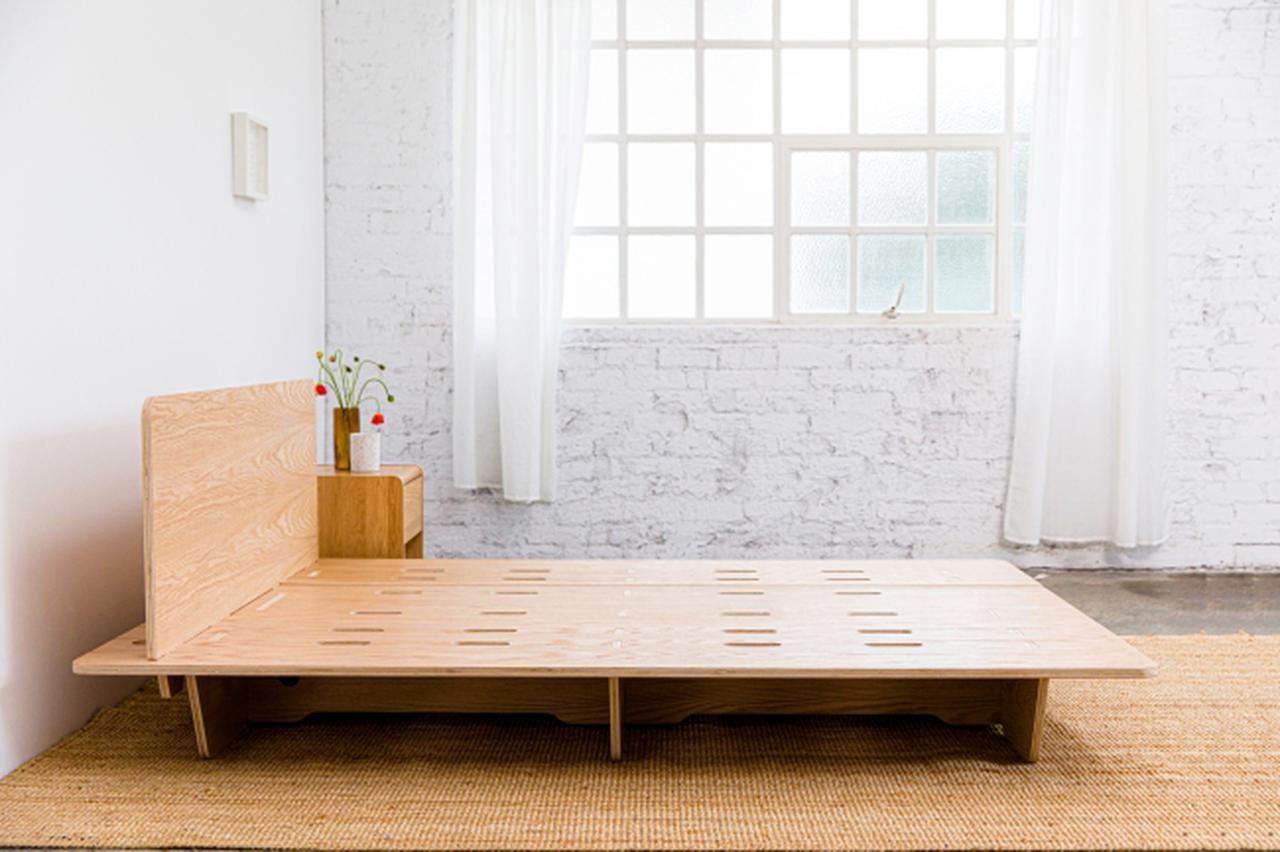 画像1: 上質な睡眠と優しい暮らしを実現するサステナブルかつヴィーガンなベッドフレーム