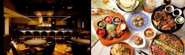 画像1: 横浜のリバーサイドで本場のテキーラと料理が楽しめる「MEXICAN LOUNGE La GRULLA」がCRANE YOKOHAMAにオープン