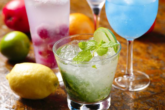 画像3: 本場メキシコのテキーラからリゾート感あふれるオリジナルカクテルまで 70種類の豊富なお酒をご用意