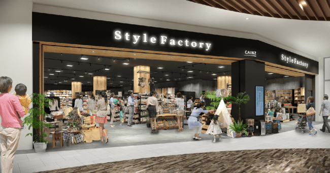 画像1: ライフスタイルDIYショップ「Style Factoryららぽーと海老名店」がグランドオープン!