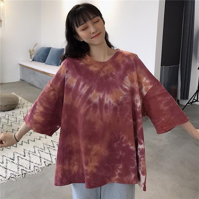 画像2: タイダイ染め ビッグサイズTシャツ