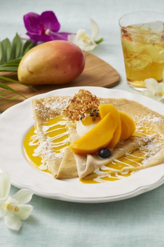 画像5: 桃、メロン、グレープフルーツなどフルーツづくし!「フルーツTEA&スイーツ」
