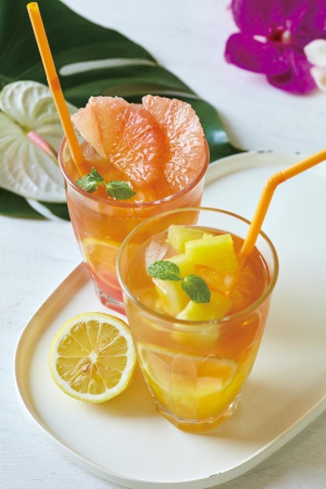画像1: レモネードフルーツアイスティー ピンクグレープフルーツ&アールグレイ+レモネードフルーツアイスティー パイナップル&ジャスミン