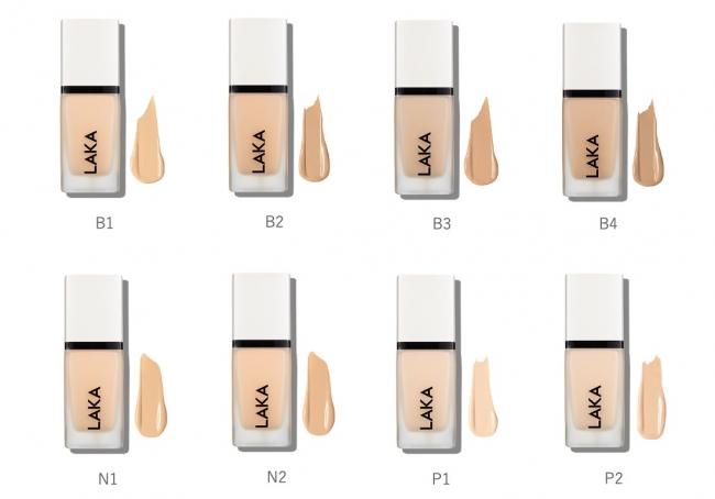 画像: カラー展開(8色): B1 / B2 / B3 / B4 / N1 / N2 / P1 / P2