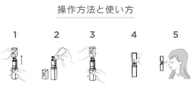 画像3: 初めてのタッチレス スキンケア。「ミネラルエアー スキン」3 つの革新