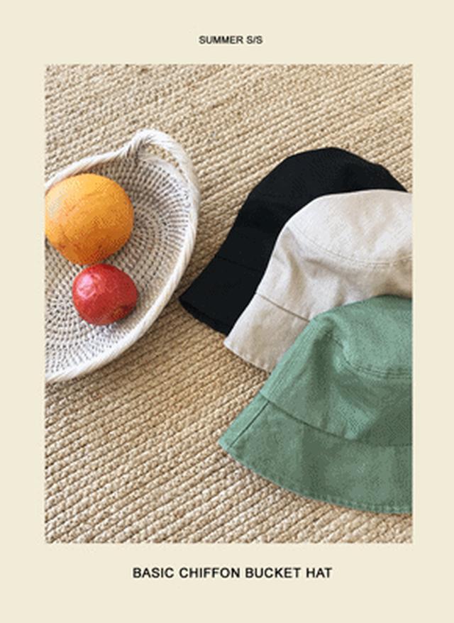 画像: [DHOLIC] コットンバケットハット・全3色アクセサリーキャップ・帽子・ニット帽|レディースファッション通販 DHOLICディーホリック [ファストファッション 水着 ワンピース]