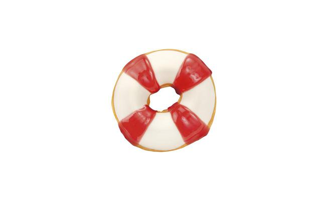 画像2: ひんやり涼しげなシロクマと、夏らしい浮き輪モチーフの新作ドーナツ!