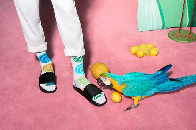 画像1: Happy Socks 店舗スタッフおすすめ!Happy Socks x サンダルコーデ