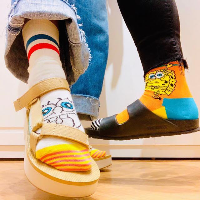 画像3: Happy Socks 店舗スタッフおすすめ!Happy Socks x サンダルコーデ