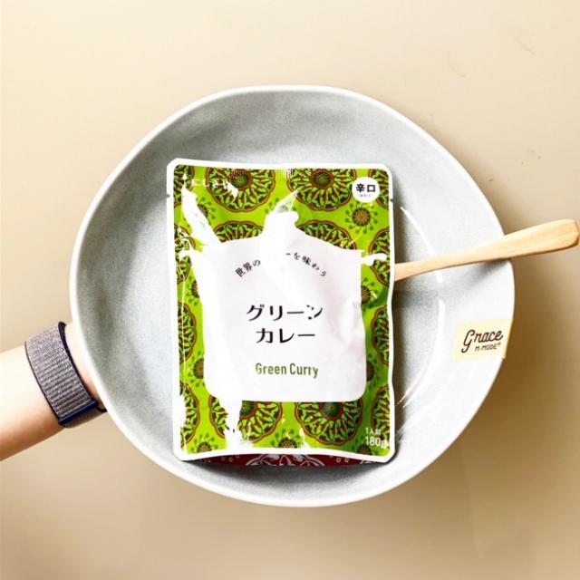 画像: にしきや「グリーンカレー」379円