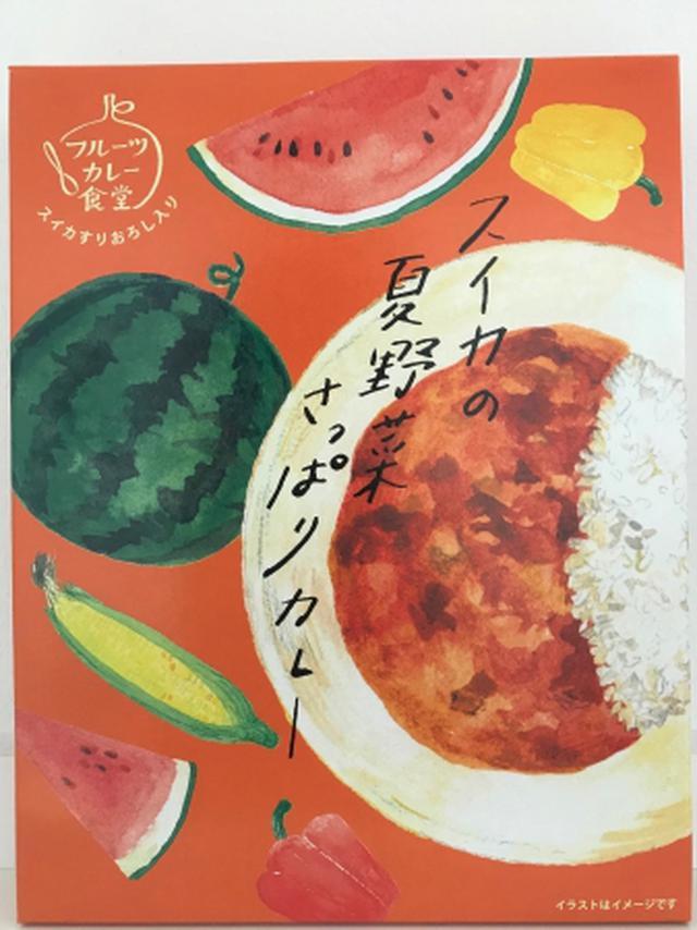 画像: フルーツカレー食堂「スイカの夏野菜さっぱりカレー」540円