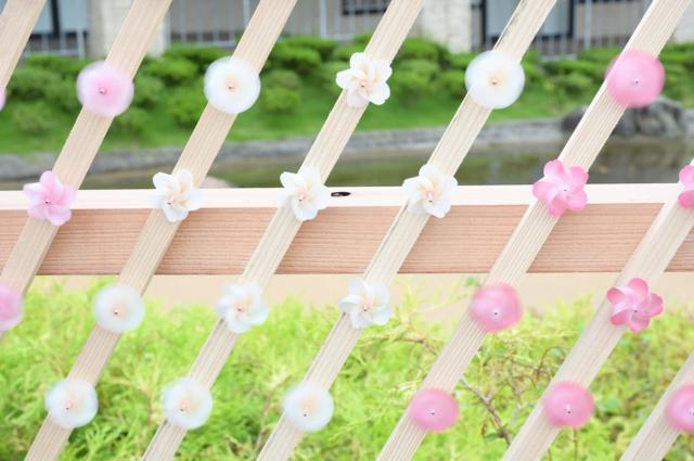 画像2: 真夏の桜が、失われた春を取り戻す約20メートル!5,000個の桜かざぐるまが並ぶ「SAKURA KAZAGURUMA-WALL」那須ガーデンアウトレットに期間限定で登場!