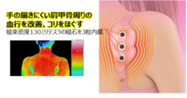 """画像5: 女性の半数が悩む、手の届かない肩甲骨のコリを""""ながらケア"""""""