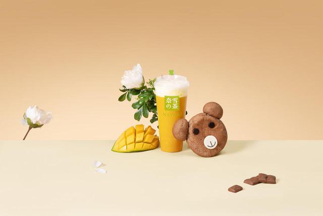 画像1: 第 10 位「マンゴチーズティー」(M680 円 L780 円)
