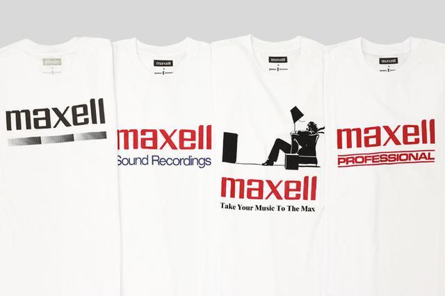 画像2: JOURNAL STANDARDが「Maxell(マクセル)」とのコラボレーションによるTシャツコレクションを新発売