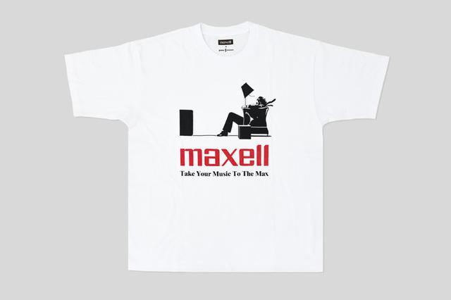 画像3: JOURNAL STANDARDが「Maxell(マクセル)」とのコラボレーションによるTシャツコレクションを新発売