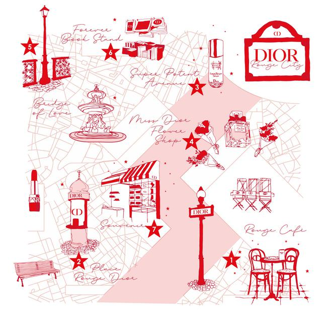 画像: ディオール メイクアップ イベント「ルージュ シティ」|Dior