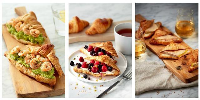 画像: ピカールの食材で作る「クロワッサンバリエ」